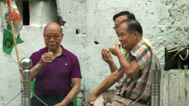 Chinese men in Calcutta