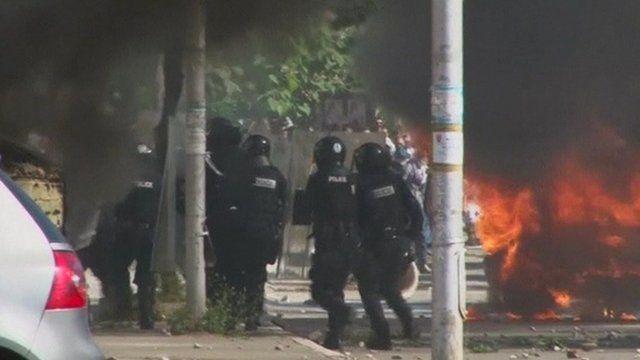 Mitrovica clashes