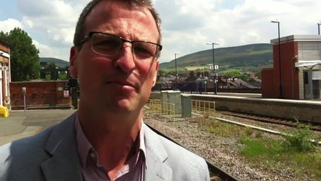BBC Transport Correspondent Richard Westcott