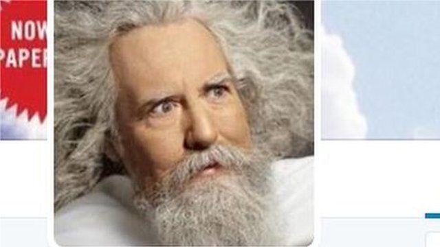 """Image of """"God"""" - man with white beard"""