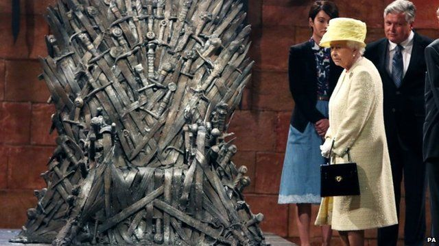 Queen with the Iron Throne