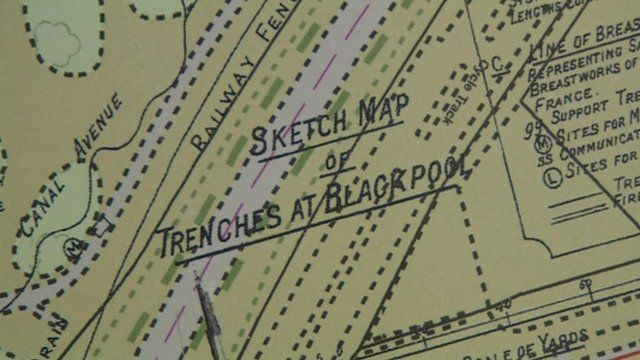 Trench map
