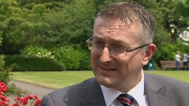 Andrew Goodall, the Welsh NHS's new chief executive - _76009272_z10