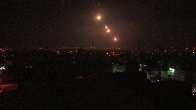 Israel's anti-rocket interceptor system