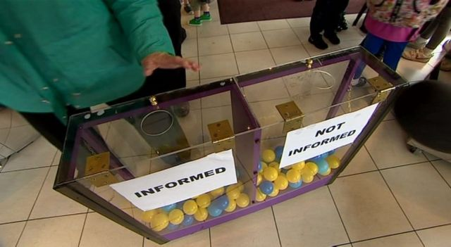 Daily Politics mood box in Edinburgh