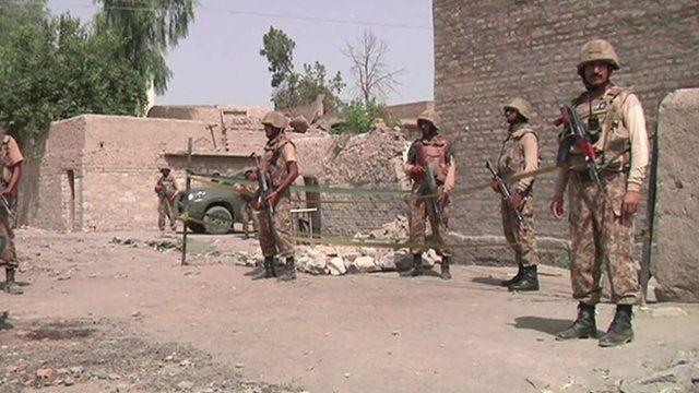 Troops in Miranshah