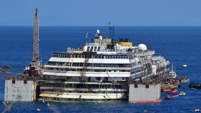 Wreck of Costa Concordia