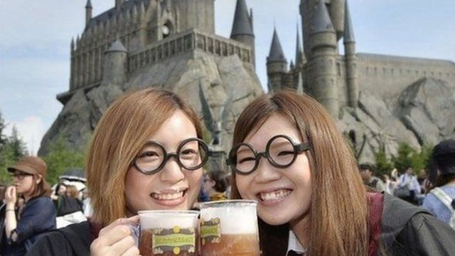 The new Harry Potter World at Universal Studio in Japan