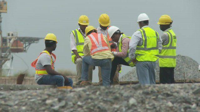 Nigerian workers