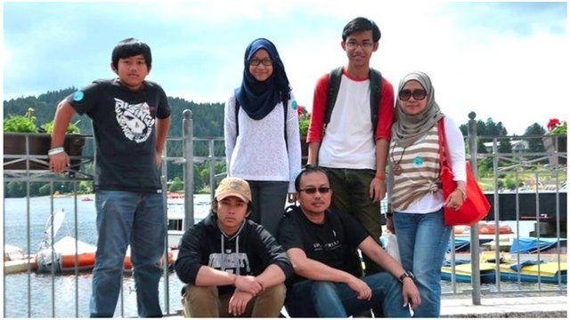 Tambi Jiee and his family