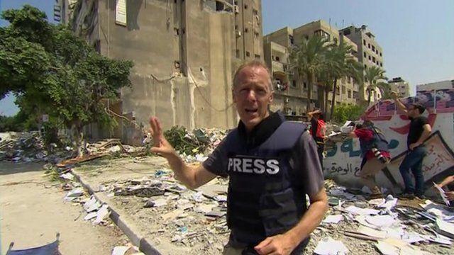 Paul Adams in Gaza City