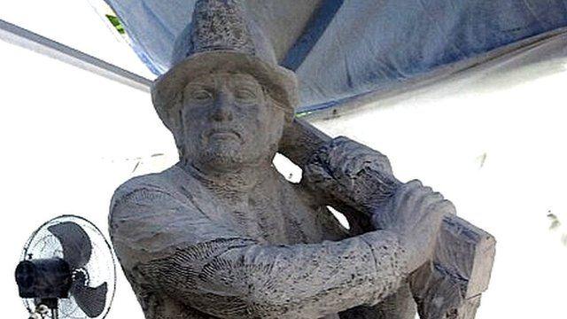 Ongky Wijana statue in Bali