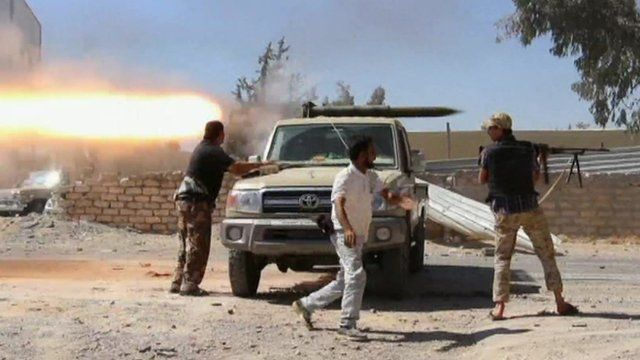 Missile fired at Tripoli's international airport