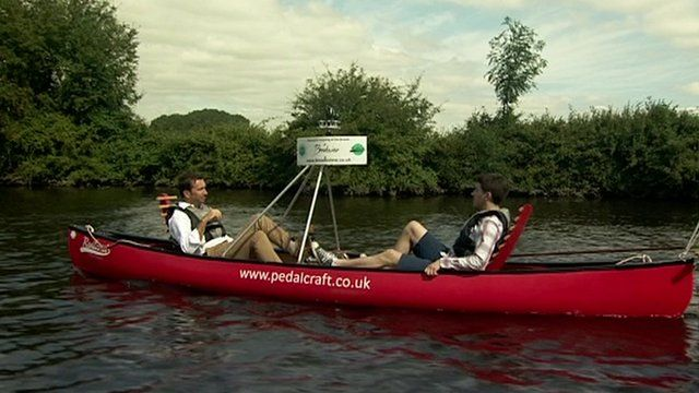 The 'Broadsview' canoe mapping Norfolk's waterways
