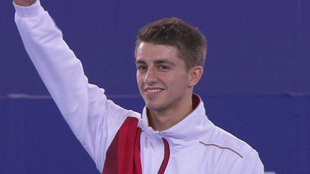 Max Whitlock wins men's floor gold