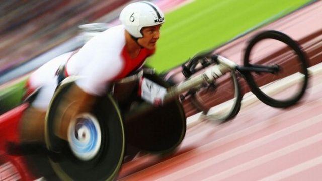 David Weir racing