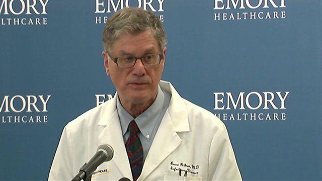 Dr Bruce Ribner of Emory University Hospital