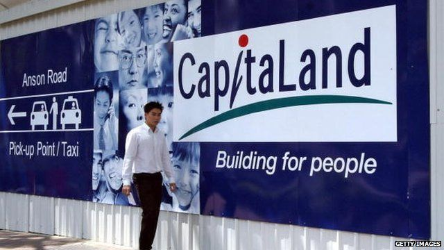 CapitaLand poster