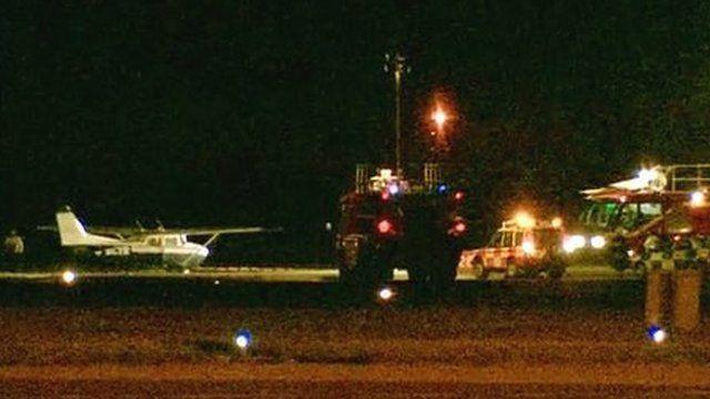 Plane at Humberside Airport