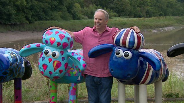 Nick Park, creator of Shaun the Sheep