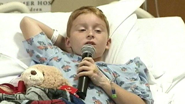 A nine-year-old boy from Florida has been speaking about the moment he fought off a 9ft-long alligator with his bare hands