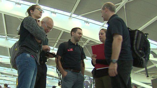 British doctors prepare to leave Heathrow for Gaza
