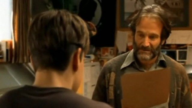 Robin Williams in Good Will Hunting