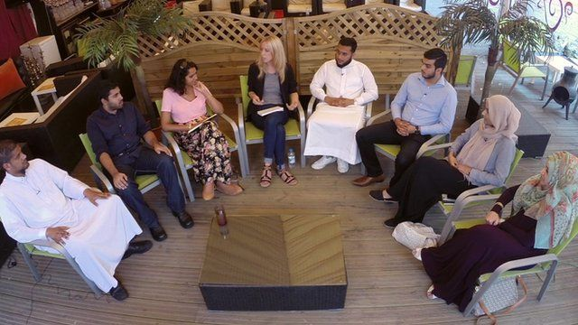 BBC Asian Network reporter Catrin Nye has been speaking to young British Muslims about their views on a Caliphate.