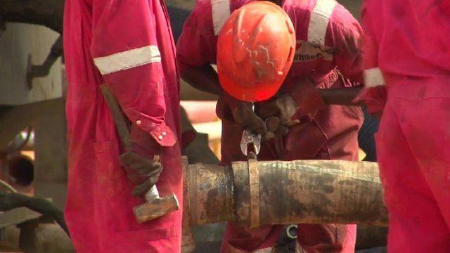Kenya oil workers