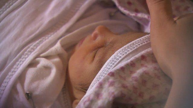 Iraqi newborn