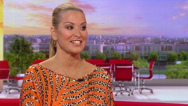 Anastacia on BBC Breakfast