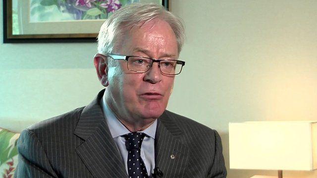 Australia's Trade Minister Andrew Robb