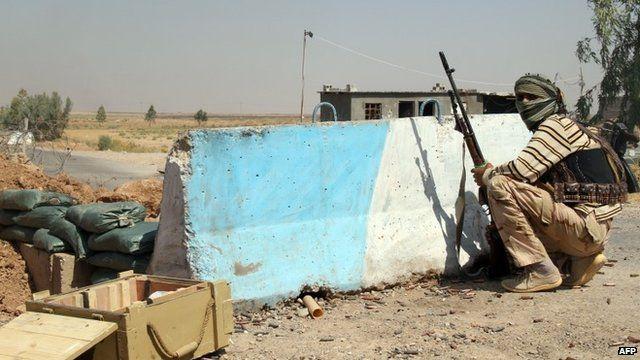 An Iraqi Turkmen Shiite fighter, 4 August 2014
