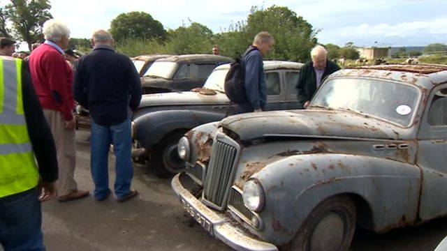 Veteran car auction