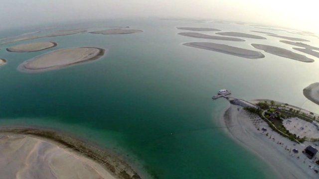 World Islands project in Dubai