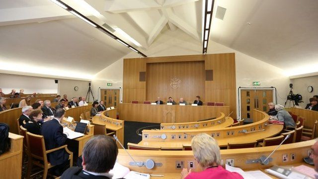 Meeting of Rotherham council's cabinet at Rotherham town hall