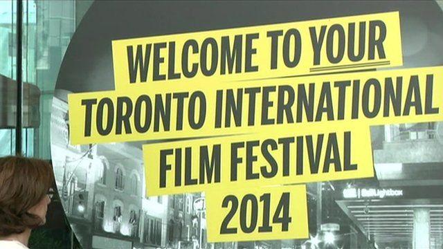 Toronto International Film Festival welcome sign