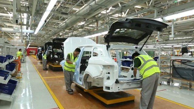 jaguar land rover 1bn chinese factory begins production. Black Bedroom Furniture Sets. Home Design Ideas