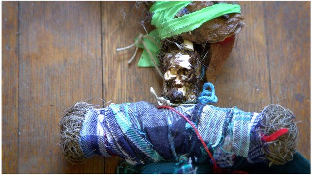 A voodoo doll