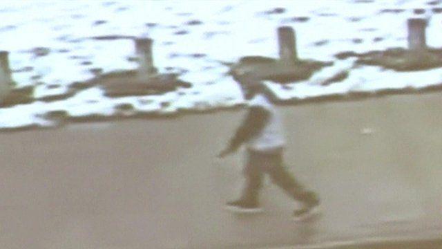CCTV of Tamir Rice