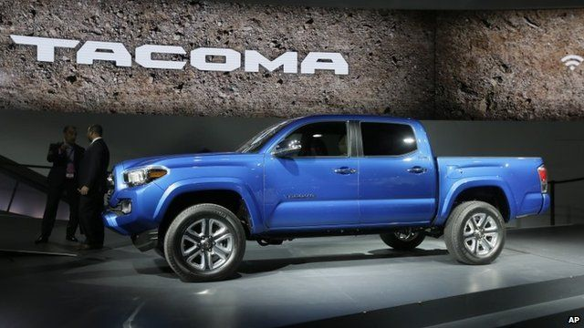 The new Toyota Tacoma truck