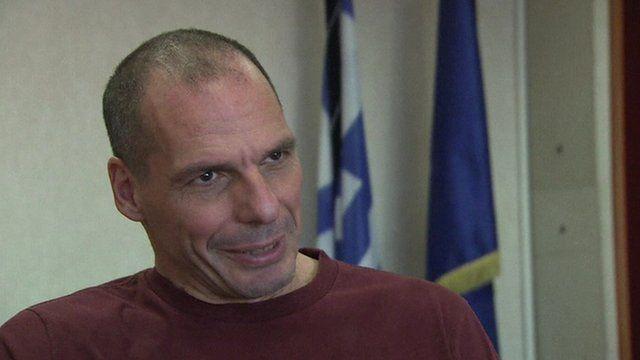 Finance Minister Yanis Varoufakis