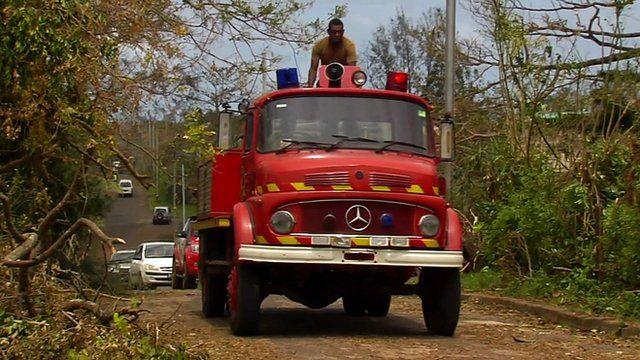 Emergency vehicle in Vanuatu
