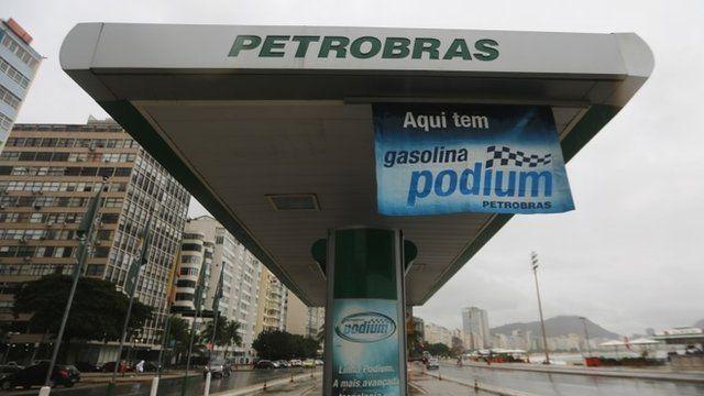 Petrobras gas station in Rio de Janeiro