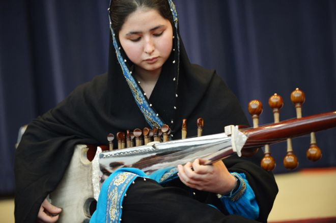 86234200 negin 976 gettyimages - Afghanistan's  First  Female  Conductor