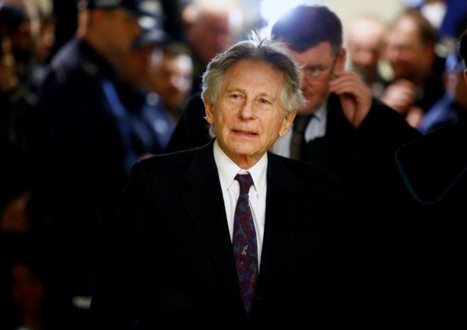 Film director Roman Polanski at a court hearing in Poland in 2015.