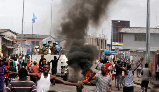 Des affrontements meurtriers ont eu lieu pendant les manifestations à Kinshasa.
