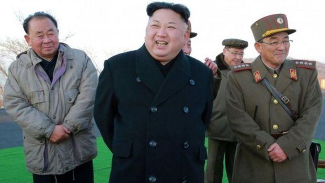 """Kiongozi wa Korea Kaskazini, Kim Jong Un, anasemekana ametaja uzinduzi huo kama wa """"kihistoria"""""""