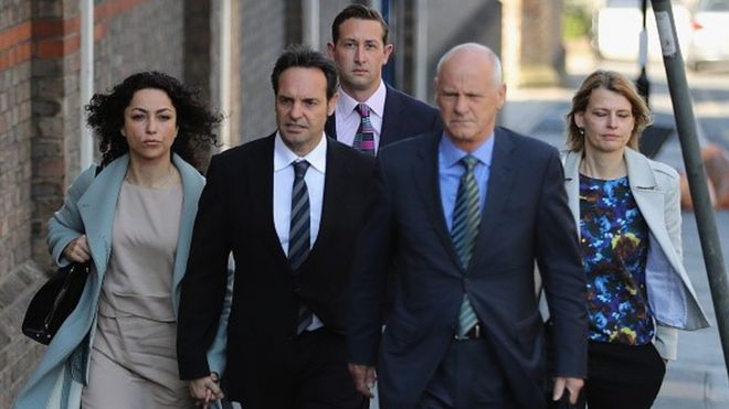 Eva Carneiro and her legal team