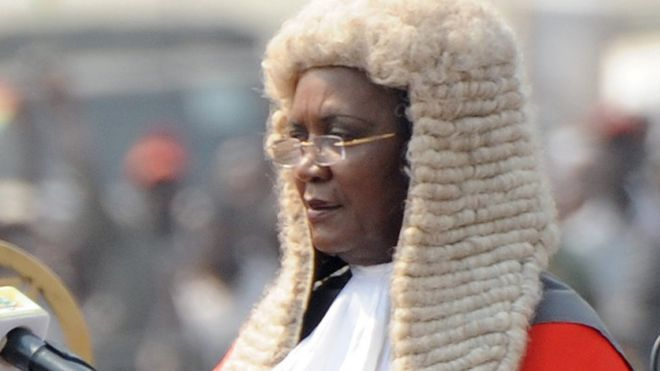 Ghana's Chief Justice Georgina Theodora Wood